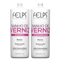 Felps Banho de Verniz Kit Duo Brilho 2x1000mL -