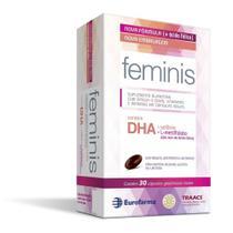 Feminis 30 cápsulas vitaminas ômega-3 - nova formula - Eurofarma