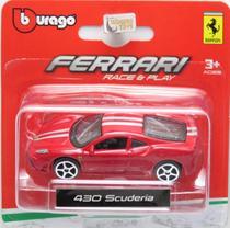 Ferrari 430 Scuderia - Race & Play - 1/64 - Bburago -