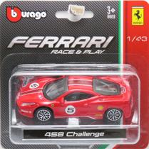 Ferrari 458 Challenge - Race & Play - 1/43 - Bburago -