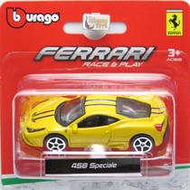 Ferrari 458 Speciale - Race & Play - 1/64 - Bburago -
