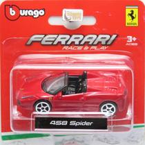 Ferrari 458 Spider - Race & Play - 1/64 - Bburago -