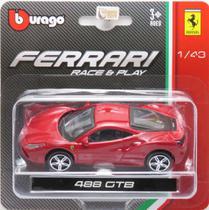 Ferrari 488 GTB - Race & Play - 1/43 - Bburago -