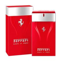 Ferrari perfume masculino man in red - eau de toilette 50 ml -
