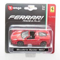 Ferrari Scuderia Spider 16M - Race & Play - 1/43 - Bburago -