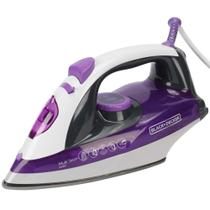 Ferro a Vapor Black Decker Multi Steam X6000 - Roxo 127v - Black+decker