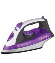 Ferro a Vapor Black Decker Roxo Base Ceramic Plus X6000-B2 1200W 220V