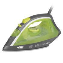 Ferro de Passar a Vapor Arno Ecogliss FEC1 - 110V - Verde Base de Cerâmica -