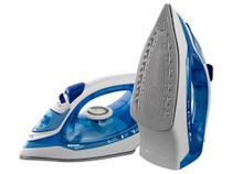Ferro de Passar a Vapor Semp Soft Easy Glide - Azul e Branco -
