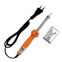 Ferro de Solda Estanho para Profissionais eletricistas 40W Potência BFH1684 + Solda 1.2mm 25Gr - Bestfer