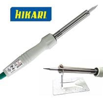Ferro Soldar Hikari Profissional Power 60 Inmetro + Estanho -