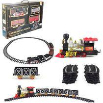 Ferrorama Express Clássico com 20 Peças com Som e Luz - Ref. WB3757 - Wellmix