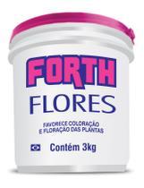 Fertilizante Adubo Forth Flores 3 kg - Balde -