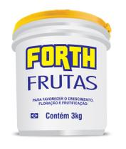 Fertilizante Adubo Forth Frutas 3 kg - Balde -