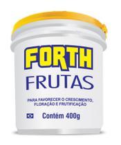 Fertilizante Adubo Forth Frutas 400 Gramas - Balde -