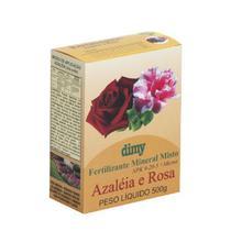Fertilizantes granulado rosas e azaleias Dimy 500 gramas -
