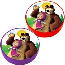 Festa Masha e o Urso - Latinha Plástica 5x1 Lembrancinha Masha e o Urso - Magazine 25 De Março