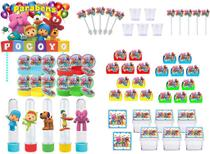 Festa Pocoyo (colorido) 171 peças (20 pessoas) -