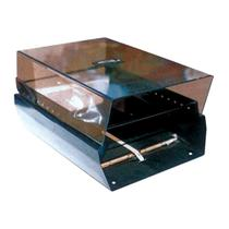 Fichário de Mesa 3 x 5 Fumê Sem Índice Mini Master Menno -