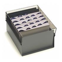 Fichario de mesa acrilico 3x5 acrimet - fume -