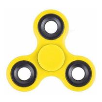 Fidget Hand Spinner Finger Anti Stress Ansiedade,amarelo - Mp