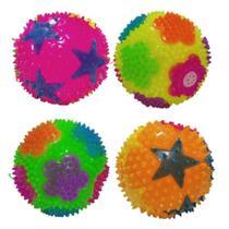Fidget Toys Bola De Luz Com Som Cores Sortidas Kit Com 2 - Nfranca