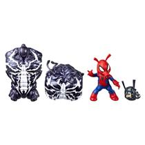 Figura Articulada - 15 Cm - Marvel Legends - Build a Figure - Venon - Spider-Man - Hasbro