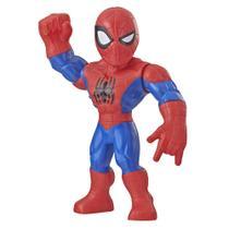 Figura Articulada - 25 Cm - Disney - Marvel - Super Hero Adventure - Mega Mighties - Homem Aranha - Hasbro -