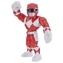 Figura Articulada - 25 Cm - Power Rangers - Mega Mighties - Red Ranger - Hasbro -