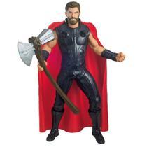 Figura Articulada - 50 Cm - Disney - Marvel - End Game - Thor - Mimo -