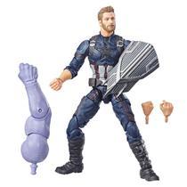 Figura Articulada - Disney - Marvel - Avengers - Guerra Infinita - Build a Figure - Capitão América - Hasbro - E0857 -