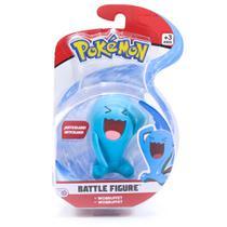 Figura Articulada - Pokémon - 7 Cm - Battle Figure - Wobbuffet - DTC -