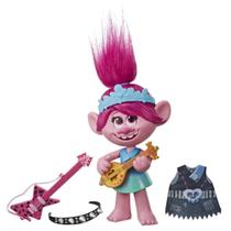 Figura Articulada - Trolls World Tour - Poppy Rock - Hasbro