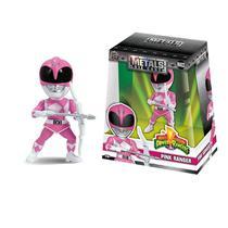 Figura Colecionavel 10 Cm Metals Mighty Morphin Power Rangers Pink Ranger - Dtc -