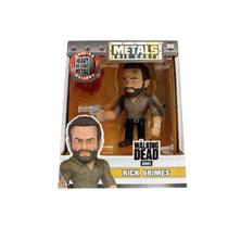 Figura Colecionavel 10 Cm Metals The Walking Dead Rick Grimes - Dtc -