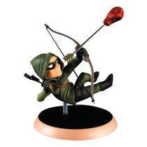 Figura Colecionável 15 Cm - Q-Figures - DC Comics - Green Arrow - Bandai -