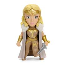 Figura Colecionável 5 Cm - Metals - DC Comics - Wonder Woman - Rainha Hipolita - DTC -