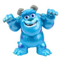 Figura Colecionável 6 Cm - Metal - Disney - Monstros SA - Sulley - DTC -