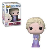 Figura Colecionável - Funko POP - Disney - Frozen 2 - Elsa - Edição Especial - Funko -
