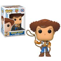 Figura Colecionável - Funko Pop - Disney - Toy Story 4 - Woddy - Funko -