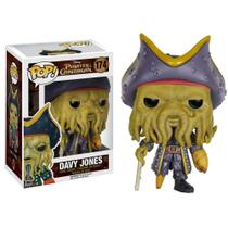 Figura Colecionável - Funko POP - Piratas do Caribe - Davy Jones - Funko