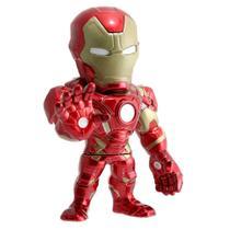 Figura Colecionavel Homem de Ferro de Metal 15cm Disney - Marvel - Civil War - Dtc