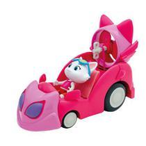 Figura com Veiculo 44 Gatos O Carro da Milady Toyng -