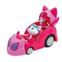 Figura com Veiculo 44 Gatos - O Carro da Milady - Toyng -