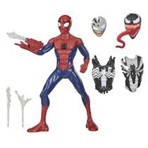 Figura de Ação - 30 Cm - Disney - Marvel - Spider Man Venom Gear - Homem Aranha - Hasbro -