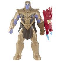 Figura de Ação - Disney - Marvel - Vingadores - Ultimato - Titan Hero - Thanos - Hasbro -