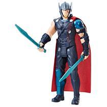 Figura de Ação - Thor com Frases e Sons - 30 cm - Thor Ragnarok - Hasbro1 -