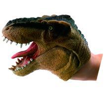 Figura - Dino Fantoche - Dino Marrom - DTC -