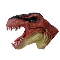 Figura Dino Fantoche Dtc Marrom -