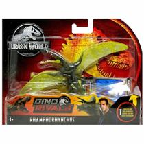 Figura Dinossauro Articulada - Rhamphorhynchus - 12 cm - Dino Rivals - Jurassic World - Mattel -